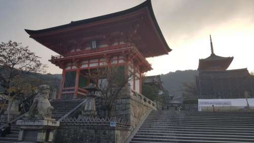 japan travel street walk orient