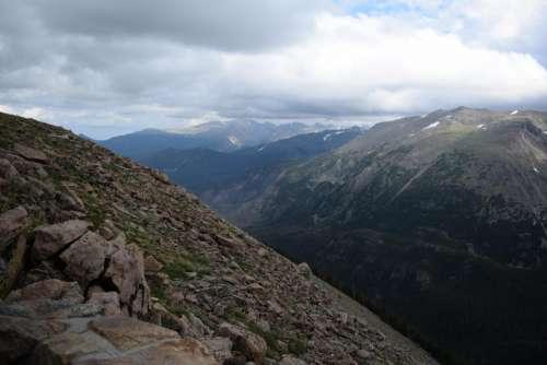 rocky mountain national park RMNP landscape vista mountains