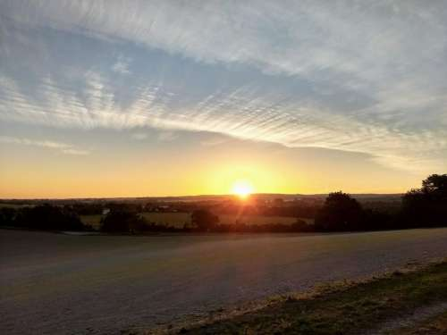 summer solstice sun dawn longest day sunrise