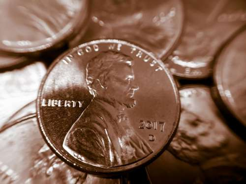 Penny coin money #currency