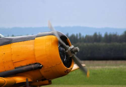 borden air show airplane fighter trainer
