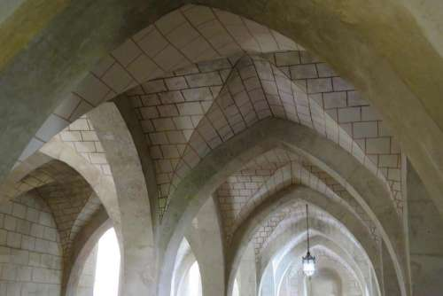 church arches roof ceiling architecture