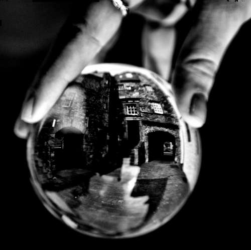 lensball glass ball world globe