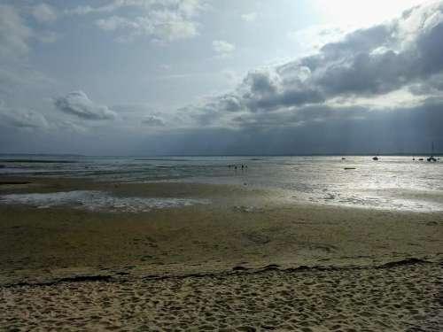 stormy sea beach atlantic