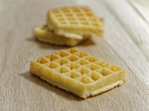 food sweet waffles small waffles soft waffles