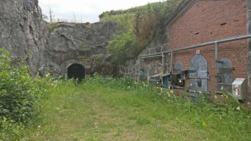 industry abandoned tunnel ammunition bunker military fort