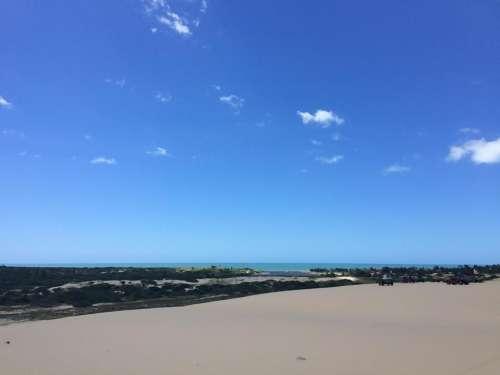 Canoa Quebrada Brazil beach seashore ocean