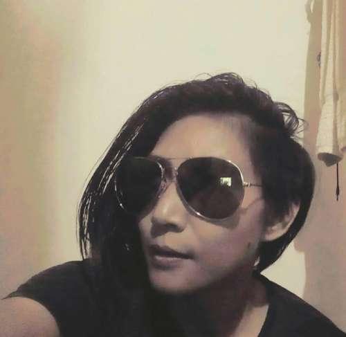 Woman face sunglasses