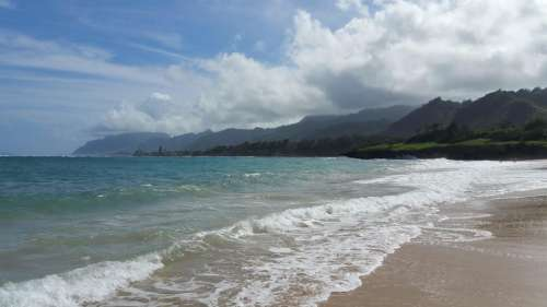 Beach Sand Hawaii North Shore Oahu