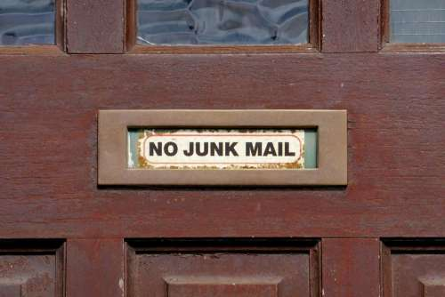 letter box mail junk spam post