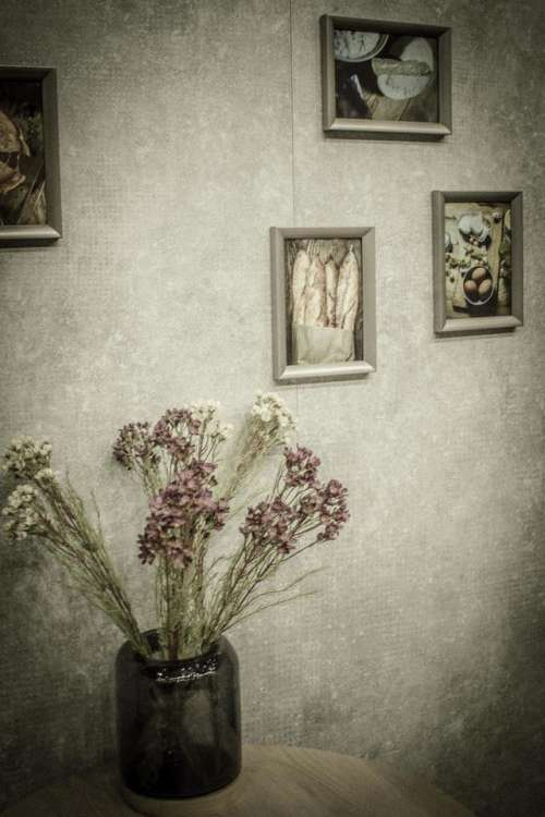 pictures flower wall mood vintage