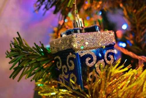 Christmas ornament tree holiday. decorative season