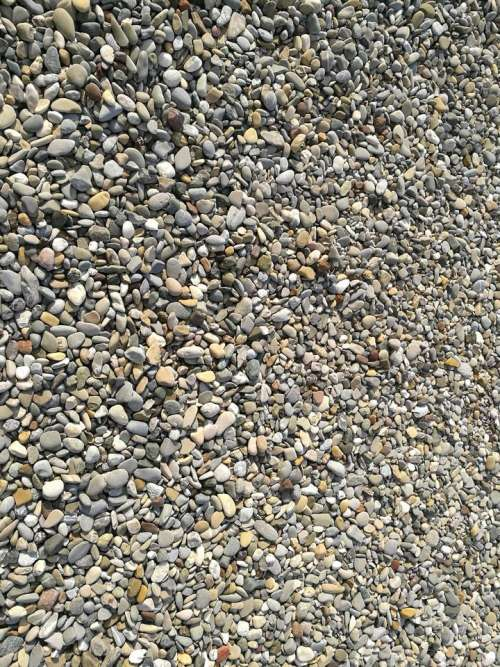 texture gravel stones