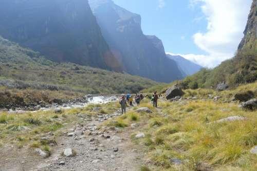 Hiking Asia  Nepal Himalayas treck