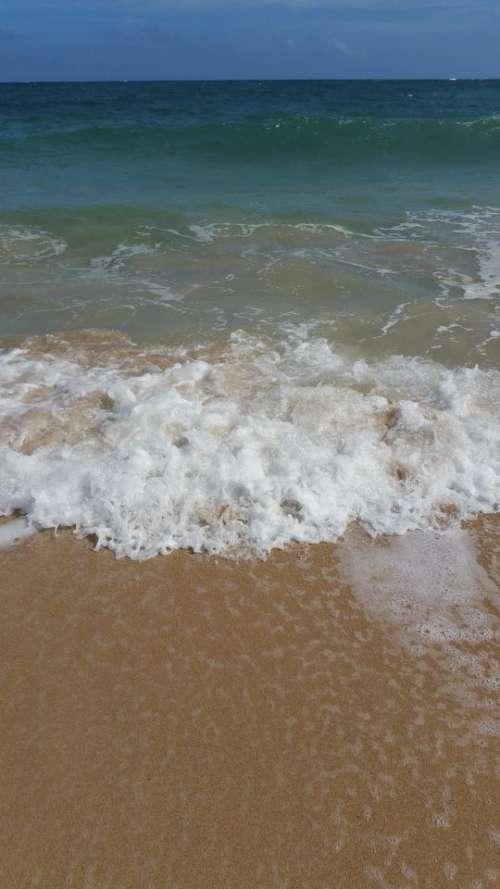 Beach North Shore Hawaii Oahu Waves