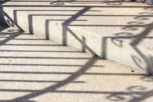 Wrought Iron Shadow Stripes #shadow