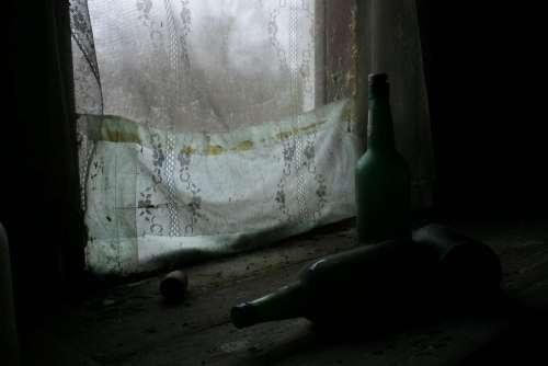 wine wine bottle still life window loneliness