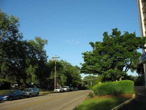 Road street cars neighborhood suburbs