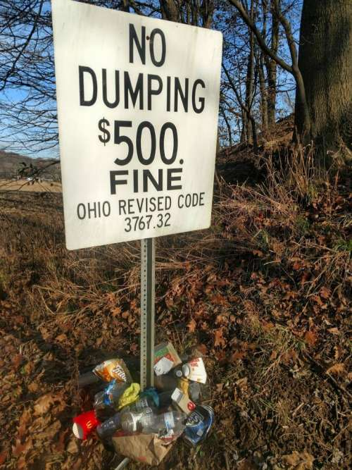 trash litter dump dumping environment