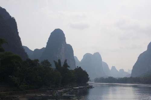 Li Jiang River Li River River China Guilin