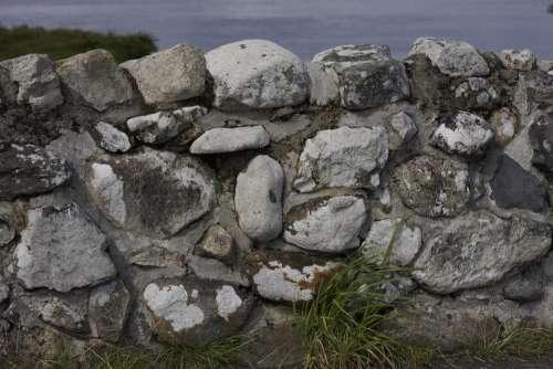 Stone Stone Wall Stone Texture Quiet Man Bridge Bridge
