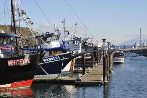 boat boats fishing ship dock