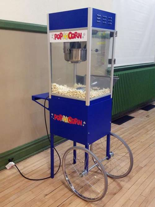 popcorn cart portable food snack