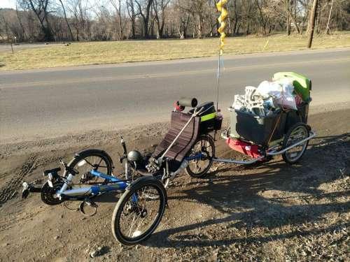recumbent trike bicycle tricycle bike