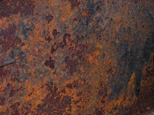 Metal rust worn texture