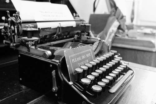 typewriter message communication