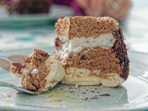 food cake Merveilleux cake French cake French pastry