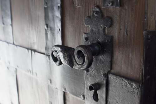 doorhandle door handle winding ancient