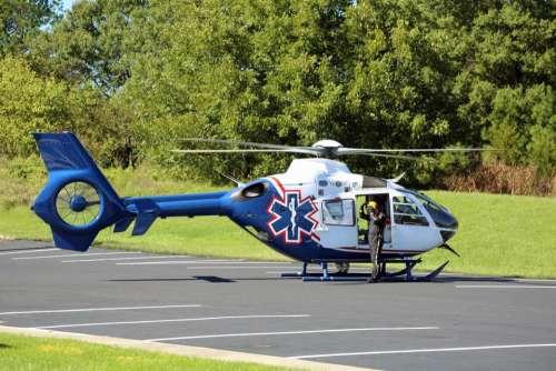 vehicle transportation helicopter air ambulance EMT