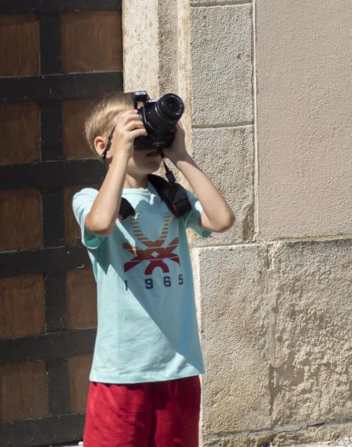 little photographer kid children photo