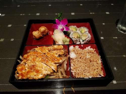 Japanese Asian food meal entree