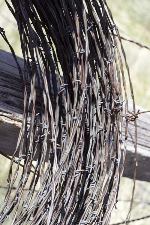 Byers Colorado fence barbed wire rural