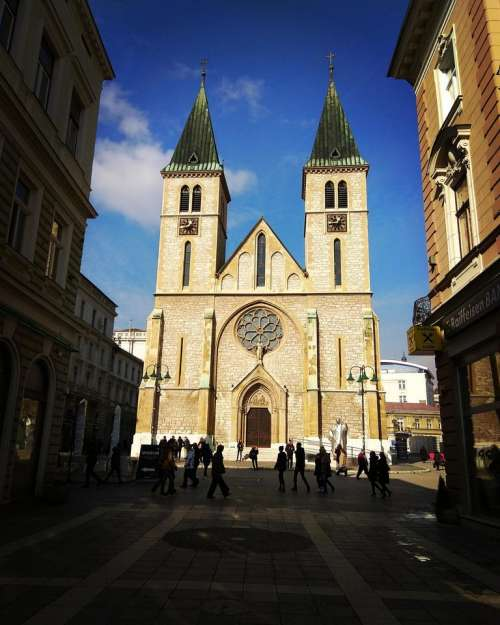 Church cathedral architecture Europe