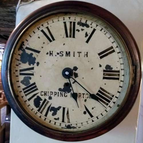 old clock smith clock antique chipping norton