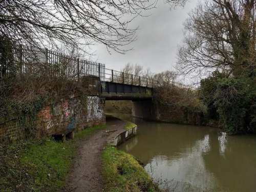 OXFORD BICESTER RAILWAY CANAL BRIDGE