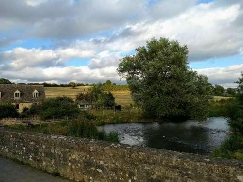 countryside english england windrush river
