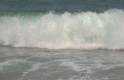 #beachday ocean waves surf
