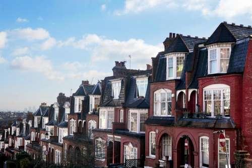 houses road street hill London