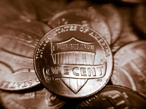 Coin money penny #currency
