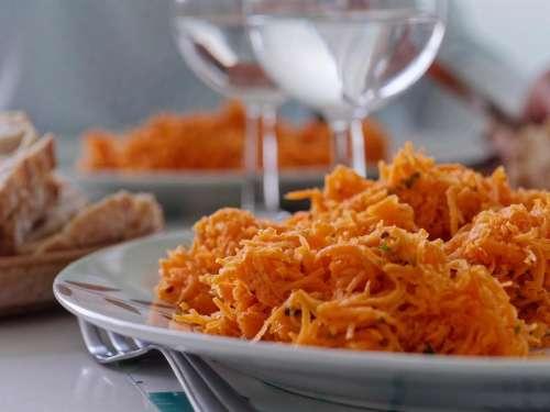 food vegetable shredded carrot carrot grated  carrot