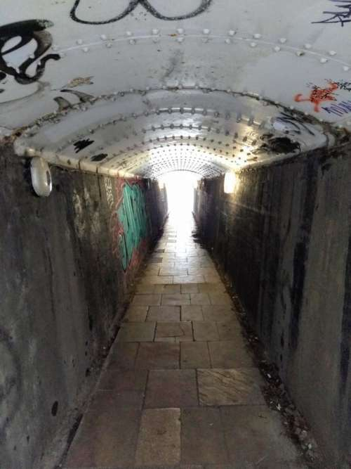 tunnel hope end of the tunnel urban decay fort tunnel
