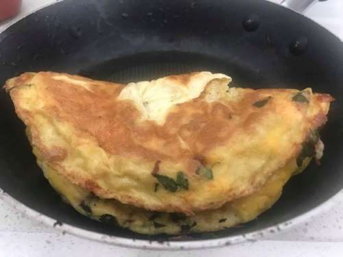 Breakfast Omelette Eggs