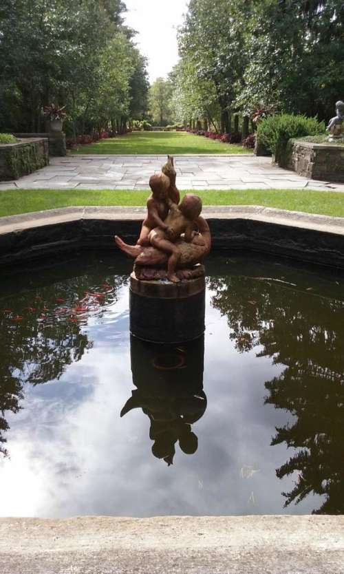 #oneperspective Maymont pond pool fountain