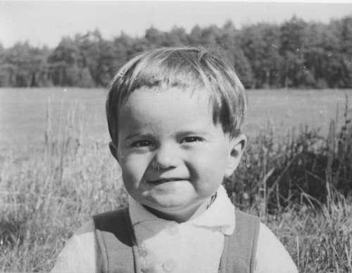 portrait boy white vintage retro
