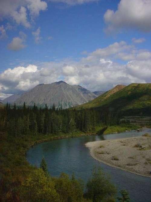Alaska Cloud Sky Weather Mountain