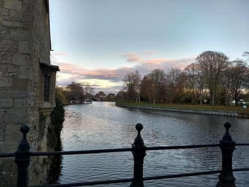 abingdon sunrise morning thames river